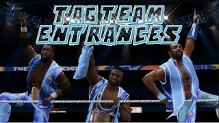 getlinkyoutube.com-WWE 2K16 | All Tag Team Entrances