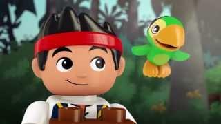 getlinkyoutube.com-The Big Golden Tiki Treasure! - LEGO DUPLO - Jake's Buccaneer Blast