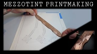 getlinkyoutube.com-Mezzotint Printmaking – Start to Finish. Systems of Control, Part 1