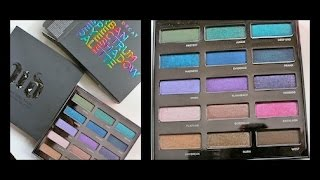 getlinkyoutube.com-NEW Urban Decay Spectrum Eyeshadow Palette Review and Swatches!