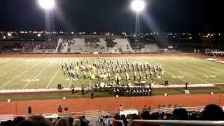 getlinkyoutube.com-Pearsall Maverick Marching Band 2014, Moving Pictures
