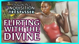 getlinkyoutube.com-Dragon Age Inquisition ► Flirting with Vivienne aka Divine Victoria - Trespasser DLC