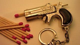getlinkyoutube.com-Make a Mini Match Pistol  - $2