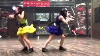 getlinkyoutube.com-アリス十番『ハピ☆バデ』踊ってみた!