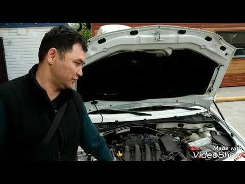 Замена свечей зажигания на автомобиле Ларгус, Логан, Алмера. Двигатель К4М