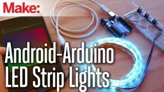getlinkyoutube.com-Weekend Projects - Android-Arduino LED Strip Lights