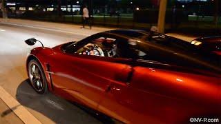 getlinkyoutube.com-Pagani Huayra Drive | Flaps | Turbo and Exhaust sounds