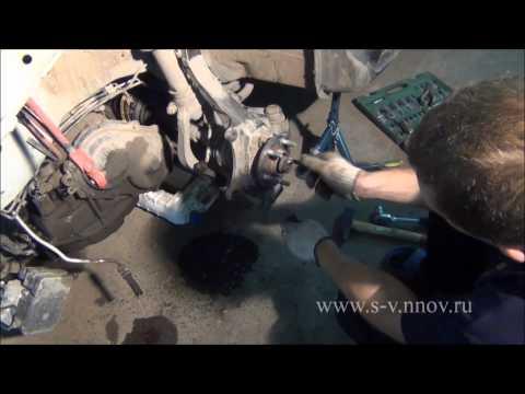 Сайбер поворотный кулак передняя подвеска часть 1