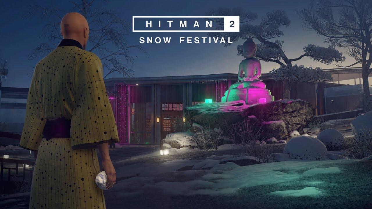 HITMAN 2 Launches Its Free Snow Festival Seasonal Event
