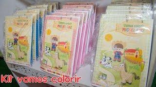 getlinkyoutube.com-Como montar kit de colorir para aniversários
