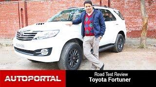 getlinkyoutube.com-Toyota Fortuner Test Drive Review - Autoportal