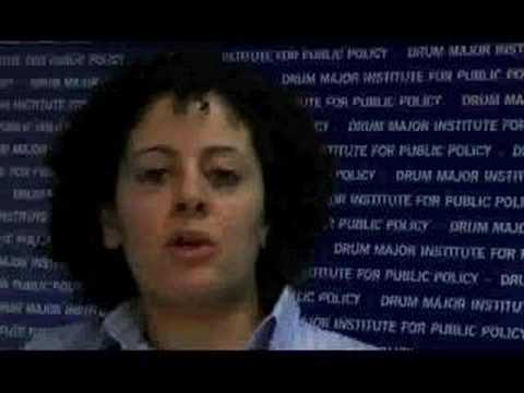 Andrea Batista Schlesinger responds to 2008 State of Union