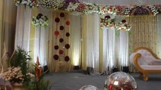 getlinkyoutube.com-Luxury Wedding Stage Decoration