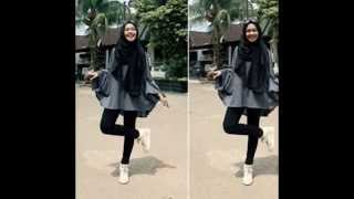 getlinkyoutube.com-Foto: Gaya Hijab Dan Busana Ria Yunita, Adik Oki Setiana Dewi Artis Terkenal''Populer di Instagram