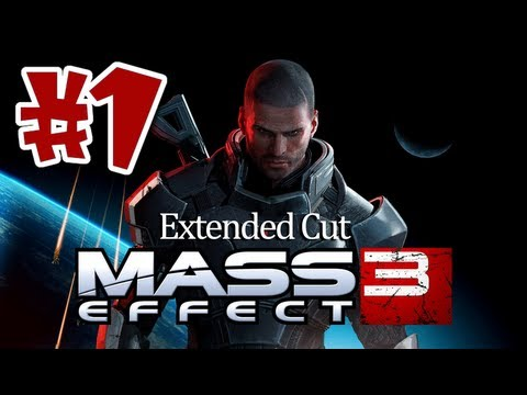 Mass Effect 3: Extended Cut DLC Walkthrough Part 1 [Commentary] HD