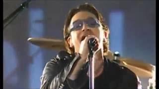 getlinkyoutube.com-U2 - 2002 SUPERBOWL HALF-TIME SHOW - WHERE THE STREETS HAVE NO NAME