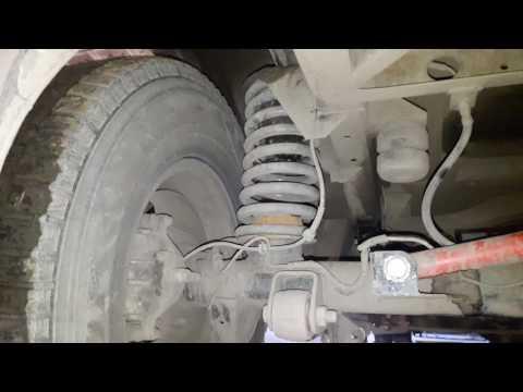 Где задние пружины в UAZ Патриот
