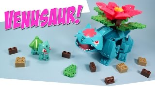 getlinkyoutube.com-Ionix Pokemon Bulbasaur to Mega Venusaur Building Set