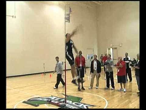 Nba Draft Combine Enes Kanter Vertical Test part 2