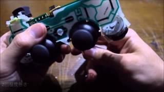 getlinkyoutube.com-輪ゴム1本でPS3コントローラーの誤作動を直す方法