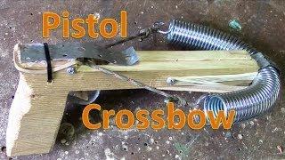 getlinkyoutube.com-How To Make A Pistol Crossbow , blue prints , tutorial