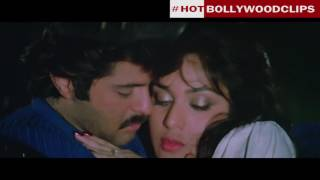 Indian Old Movie Hot Kissing Seen Anil Kapoor and Meenakshi width=