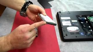 getlinkyoutube.com-Replacing a Hard Drive on a Toshiba Satellite P775D Laptop