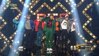 MUSIC BANK 뮤직뱅크   BTS 방탄소년단   Am I Wrong.20161014
