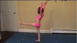 getlinkyoutube.com-Cup Song Gymnastics Routine - 2nd Grade Talent Show