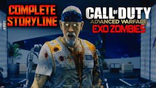 getlinkyoutube.com-ALL STORYLINE EASTER EGG CUTSCENES IN ADVANCED WARFARE EXO ZOMBIES (Every AW Exo Zombies Cutscene)