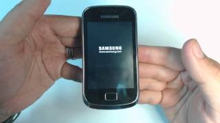 getlinkyoutube.com-Samsung Galaxy mini 2 S6500D - How to put phone in download mode