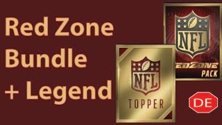 getlinkyoutube.com-Madden Mobile 16 Red Zone Bundle Plus Legend Topper; RedZone Pack Opening!