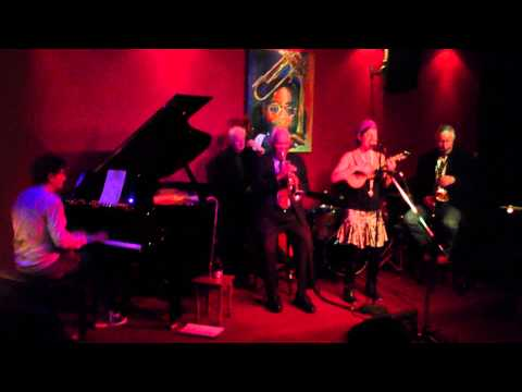 Lauren Michelle with Gil Askey and his band at Dizzy's Jazz Club