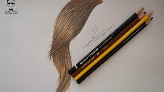getlinkyoutube.com-تعلم رسم الشعر للمبتدئين وطريقة تلوينه