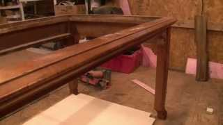 getlinkyoutube.com-Gaming Table Project! (Part 1)