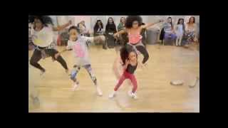 "getlinkyoutube.com-Entourage TV: Tianne & Heaven King ( Beyonce ""7/11"" Workshop)"