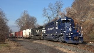 getlinkyoutube.com-Trains on the Norfolk Southern Buffalo Line 2015