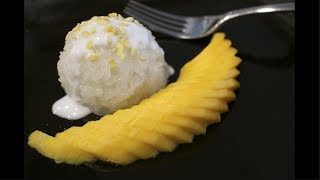 getlinkyoutube.com-Mango & Sticky Rice Recipe  ข้าวเหนียวมะม่วง - Hot Thai Kitchen