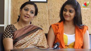 getlinkyoutube.com-Actress Menaka and Keerthi Suresh Interview | Malayalam Actresses