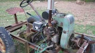 getlinkyoutube.com-Home Built Tractor