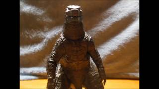 Godzilla 1994 vs. Godzilla 2014 Stop Motion