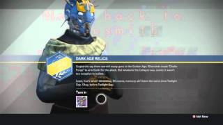getlinkyoutube.com-Destiny Taken King - How to get Legendary Fusion Rifle - Back in Saddle Gunsmith Quest