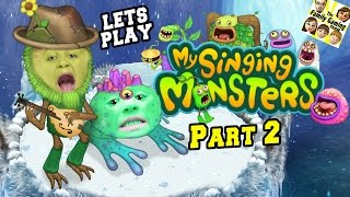 Lets Play MY SINGING MONSTERS Part 2! What's New w/ Mike's Islands?? (Face Cam Gameplay w/ Chase)