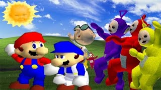 getlinkyoutube.com-SM64 Bloopers: Where the Wild Teletubbies are