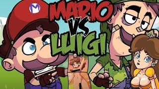 getlinkyoutube.com-MARIO VS LUIGI RAP | ESPECIAL 5 MILLONES PARTE 2 | ZARCORT Y CYCLO