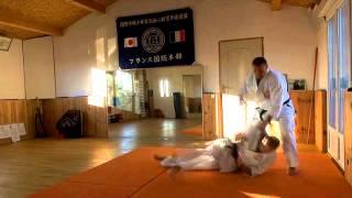 Nagashi ashi barai sur saisie