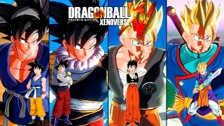 getlinkyoutube.com-Dragon Ball Xenoverse How to Create Goku/Gohan + Skins - Como Crear a Goku/Gohan Tutorial + Trajes