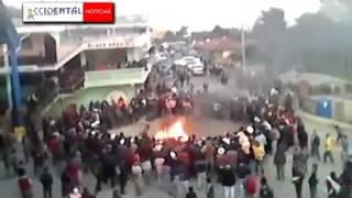 VIDEO MUESTRA COMO LINCHARON A CUATRO PERSONAS EN SAN MIGUEL IXTAHUACÁN