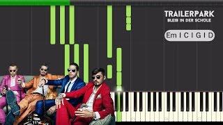 getlinkyoutube.com-Trailerpark - Bleib In der Schule - Hook Piano Tutorial