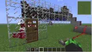 getlinkyoutube.com-[Minecraft]自動焼肉生産機 作り方